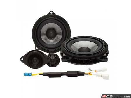 ES#3677009 - T3BMW1 - 2-Way Component Upgrade - Direct fit replacement drivers for factory HiFi audio. - Rockford Fosgate - BMW