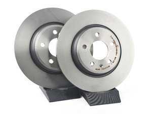 ES#3184406 - 8K0615601J - Rear Brake Rotors - Pair (300x12) - Restore your stopping power - Brembo - Audi