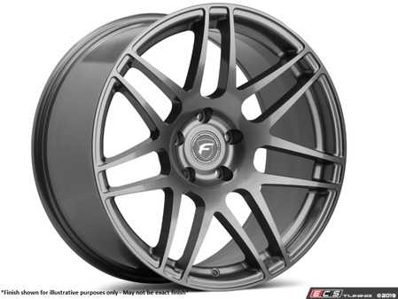 "ES#3690148 - f141995-01KT - 19"" F14 Wheels - Set Of Four - 19""x9.5"" ET20 5x112 66.56mm CB - Gloss Black Finish - Forgestar - Audi"