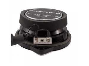 """ES#3674347 - EAD.MR.4.FF.C - Euro Audio Design Midrange Speakers  - 4"""" Logic 7 Style with Flush Flange & Capacitor - Euro Audio Design - BMW"""