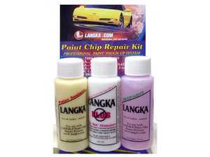 ES#3674738 - PCRKIT - Paint Chip Repair Kit - Have paint chips or road rash? Picking up the correct paint is just the first step - this kit helps you achieve professional results. - Langka - BMW MINI