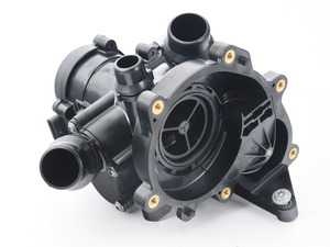 ES#3640303 - 06L121111M - Thermostat - Includes housing and gasket - Genuine Volkswagen Audi - Audi Volkswagen