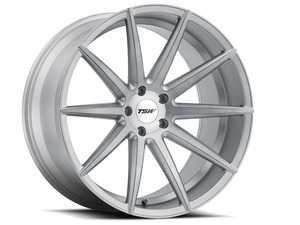 "ES#4044408 - 1885CLP425112SKT - 18"" Clypse Wheels - Set Of Four  - 18""x8.5"", ET42, 5x112 CB: 66.6 - Titanium with matte brushed face - TSW Alloy Wheels - Volkswagen"