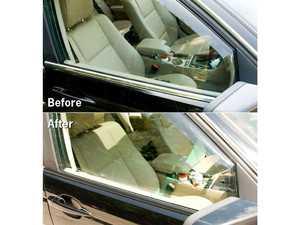 ES#3674054 - BVT1 - Chrome Blackout Tape - Gloss Black - The inexpensive, effective way to change from chrome to gloss shadowline trim - Bavarian Autosport - BMW MINI