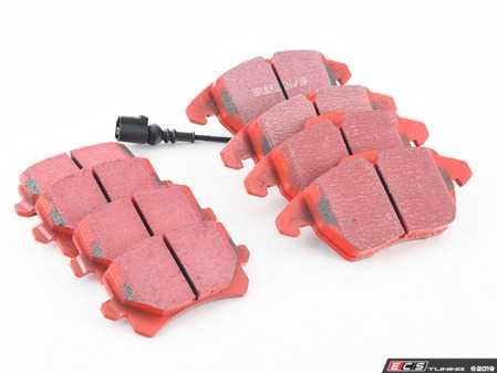 ES#3247815 - DP32004KT - Front & Rear Brake Pad kit - EBC RedStuff - Front & Rear Brake Pad kit - EBC RedStuff - EBC - Volkswagen