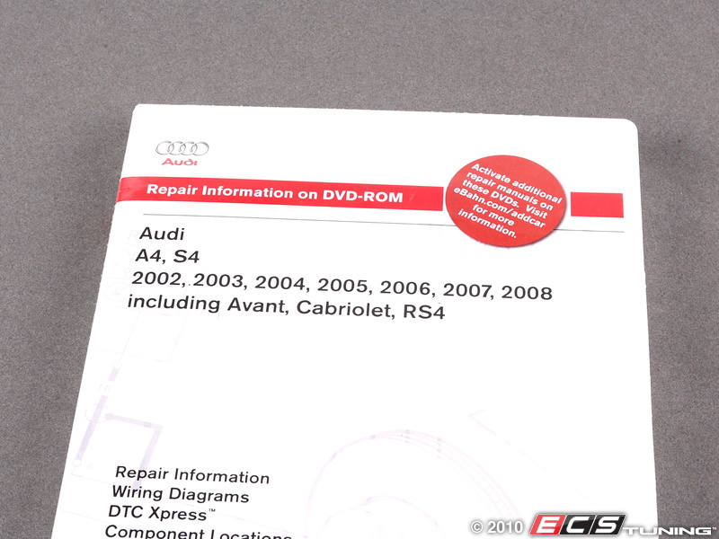 Audi a4 b6 b7 2002-2008 service manual a408 by bentley publishers.