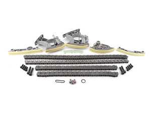 ES#2992123 - 079109469ALKT1 - Timing Chain Kit - Ultimate - Includes new tensioners, guide rails, chains, & securing hardware to service your timing chain - Assembled By ECS - Audi