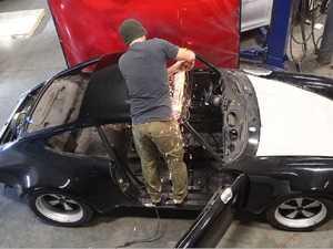 ES#3690206 - REN-E55 - 911/912/930 Sunroof Delete Panel - Cut 29 pounds off and improve the looks of your classic Porsche - Rennline - Porsche