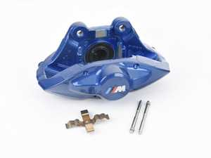 ES#3678208 - 34216799462sd - Blue - M Performance Rear Caliper - Right - *Scratch And Dent* - Fits on the passenger side. - Genuine BMW - BMW