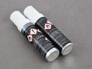 ES#3587799 - 911095933236B4 - Touch-Up Paint Set - Seal Grey Metallic - Includes paint and clear lacquer - Genuine Porsche - Porsche