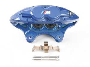 ES#3678205 - 34116799470sd12 - M Performance Caliper - Blue - *Scratch And Dent* - Right Front - Genuine BMW M Performance - BMW