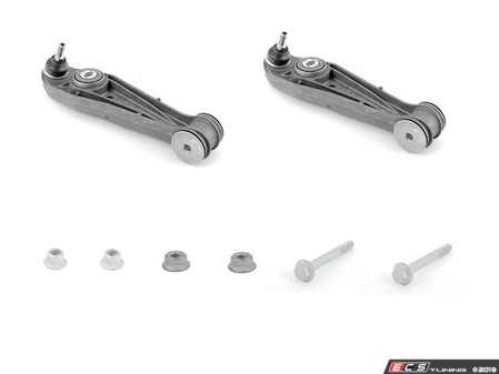 ES#3690662 - 99734105304KT1 - 997 / 987 Front Lower Control Arm Kit - Featuring Hamburg Tech Front Lower Control Arms and Genuine Porsche Hardware - Assembled By ECS - Porsche