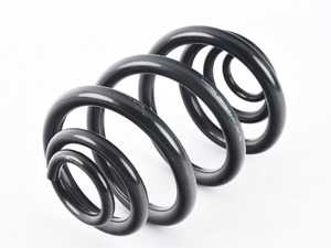 ES#3219259 - 38-129230 - B3 Rear Coil Spring - Priced Each - Simply and inexpensively replace sagging or cracked springs. Replacement in pairs is recommended. - Bilstein - BMW