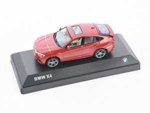 ES#2912436 - 80422348789 - 1:43 BMW X4 Scale Model - Red  - A perfect addition to any enthusiast's die-cast collection - Genuine BMW - BMW
