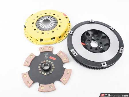ES#3438017 - BM6-HDR6 - Heavy Duty Rigid 6-Pad Racing Clutch Kit With XACT Streetlite Flywheel - Perfect for aggressive drag and road racing demands. Conservatively rated up to 505 ft/lbs torque capacity. - ACT - BMW