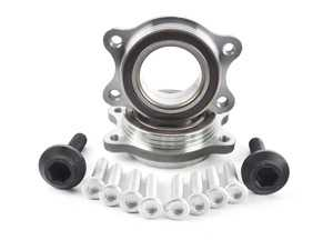 ES#3194737 - 4H0498625AKT5 - Wheel Bearing Kit - Pair - Includes both bearings with axle & securing bolts - Vaico - Audi