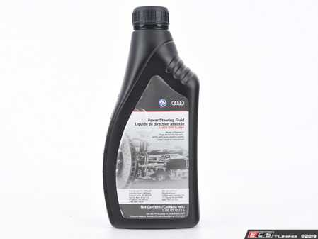 ES#3677870 - g004000ldsp - Hydraulic / Power Steering Fluid - 1 Liter - Don't let your hydraulic system run dry - Genuine Volkswagen Audi - Audi Volkswagen