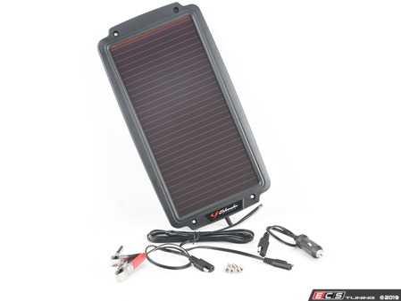 ES#2936467 - SHUSP200 - Solar Powered Battery Charger - Charge/maintain your 12 volt battery with sunshine - Schumacher - Audi BMW Volkswagen Mercedes Benz MINI Porsche