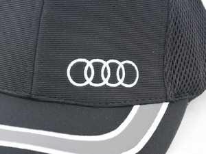 ES#3232606 - ACM4487 - Ottoman Sandwich Mesh Cap - Features mesh material for breathability - Genuine Volkswagen Audi - Audi