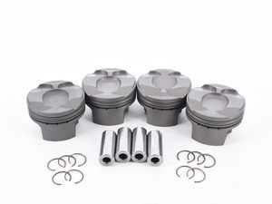 ES#3478020 - P4MIN56N18J77.5C - Forged Piston JCW (Set Of 4) - 77.5mm (+0.50mm) P4-MIN56-N18-77.5-CR10 - Performance pistons in +0.50mm stock size - Supertech - MINI