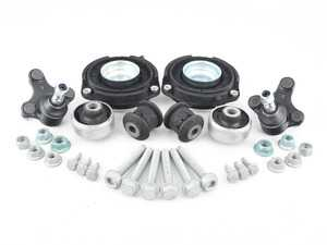 ES#2973152 - 5C0407183AKT - Front Suspension Refresh Kit - Stage 1 - Includes strut mounts, ball joints, front control arm bushings and necessary hardware - Assembled By ECS - Volkswagen