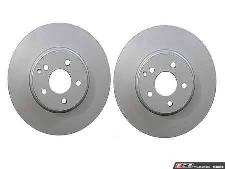 ES#3690854 - 000421121207KT - Front Brake Rotors - Pair - Includes left and right front brake rotors - Meyle - Mercedes Benz
