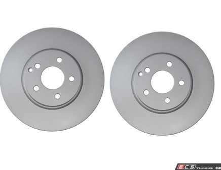 ES#3690855 - 000421121207KT1 - Front Brake Rotors - Pair - Includes left and right front brake rotors - Pagid - Mercedes Benz