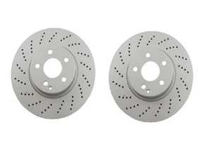 ES#3690857 - 000421111207KT2 - Front Brake Rotors - Pair (322x32) - Includes left and right front brake rotors - Meyle - Mercedes Benz
