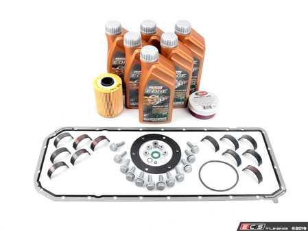 ES#3522146 - 11247835439KT5 -  BE Bearings Performance Rod Bearing Replacement Kit  - Includes everything needed for a rod bearing service, featuring BE Bearings upgraded rod bearings. - Assembled By ECS - BMW