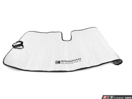 ES#3676289 - BM-33 - Bavarian Autosport Windshield Sunshade - Reduces heat build-up inside your BMW by as much as 40F and prevent heat-related interior damage - Bavarian Autosport - BMW
