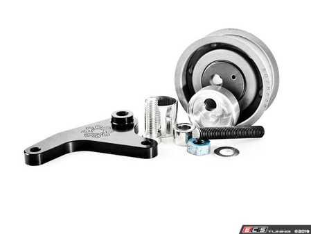 ES#2794197 - IEBEVA5S15 - Manual Timing Belt Tensioner Kit - Replace your failure prone gas-charged timing belt tensioner with this billet mechanical belt tensioner kit from Integrated Engineering. - Integrated Engineering - Audi Volkswagen