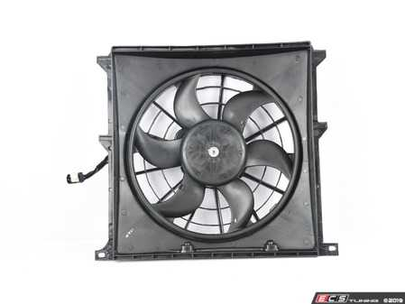 ES#2167389 - 64508372039 - Auxiliary Fan Assembly - Suction - Mounted behind the radiator - ACM - BMW