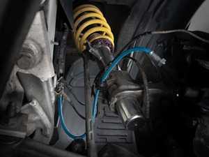 ES#3690891 - 022756TMS03 - Turner Motorsport Stainless Steel Brake Lines - Front  - New features! Low profile hardware and zinc-nickel coating for superior rest prevention! - Turner Motorsport - BMW