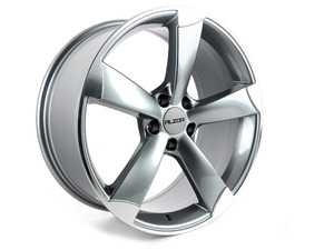 "ES#2724024 - 628-9KT - 19"" Style 628 Wheels - Set Of Four - 19""x8.5"" ET35 66.6CB 5x112 Gunmetal/Machined Face - Alzor - Audi"