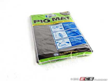 "ES#2137110 - 25306 - Absorbent Pig Mat Pack - 15"" X 20"" - Super absorbent shop mats in a convenient 3 pack - New Pig - Audi BMW Volkswagen Mercedes Benz MINI Porsche"