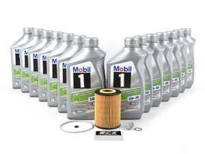ES#3691209 - 6421800009KT7 -  OM642 Sprinter V6 Diesel Oil Change Kit - 5w-30 - Featuring 13 Liters of MB 229.52 Approved Mobil 1 ESP - Low-Ash 5w-30 Engine Oil - Assembled By ECS - Mercedes Benz