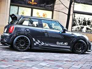 ES#3691405 - F561.2FRPCF - Duell AG F56 Krone Edition V1.2 Rear Spoiler - FRP/Carbon Fiber - Straight from Japan aggressive rear wing that has an import tuner design - Duell Ag - MINI