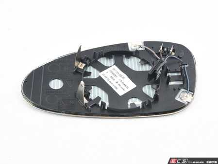 """ES#3344874 - 99773103825 - Exterior Rear View Mirror Glass Replacement - Priced Each - Right side mirror glass with """"Anti-Dazzle"""", electrically heated and adjustable - Genuine Porsche - Porsche"""