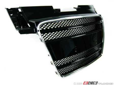 ES#250904 - FKSG33913-1 - Sport Badgeless Mesh Grille - Blackout - Clean up the front end of your vehicle - FK -