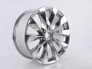 """ES#3691024 - 629-1SD1 - 19"""" Style 621 - Single Wheel - *Scratch And Dent* - *Please see description prior to ordering* 19x8.5, ET45, 5x112, 66.5CB Hyper Silver - Alzor - Audi Mercedes Benz"""