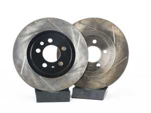 ES#3536538 - 025997ECS0170KT - Front V4 Slotted Brake Rotors - Pair (280x22) - Precision manufactured and featuring an electrostatic rust-inhibiting coating - ECS - Volkswagen