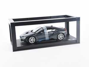 ES#2912450 - 80432336842 - 1:18 BMW I8 Scale Model - Sophisto Grey - A perfect addition to any enthusiast's die-cast collection - Genuine BMW - BMW