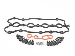 ES#3647669 - 06f103483dKT - Valve Cover Gasket Kit - All the gaskets and hardware necessary when replacing your leaky valve cover gasket - Genuine Volkswagen Audi - Audi Volkswagen