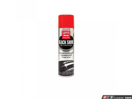 ES#3672365 - 10938 - Black Shine Tire & Trim Coating - 15 oz - Griot's Garage - This premium dressing delivers best in class coverage and lays down smooth for maximum gloss and minimal sling on tires. - Griot's - Audi BMW Volkswagen Mercedes Benz MINI Porsche