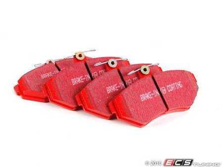 ES#520220 - DP31112C - RedStuff Performance Brake Pads - A high performance street pad, featuring Kevlar technology. - EBC - Volkswagen