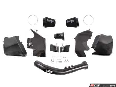ES#3691753 - FMINDK12 - Carbon Fibre Induction Kit - Lightweight and finely crafted this intake system not only increases power and sound, but also brings an eye-catching look to the engine bay. - Forge - BMW