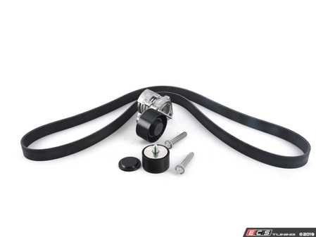 ES#3658450 - 112886200221KT - Accessory Belt Kit - Featuring high quality aftermarket components - Assembled By ECS - BMW