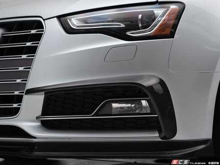 ES#3662172 - 028181ECS01 - Audi B8.5 S5 / A5 S-Line Carbon Fiber Grille Accent Set - Hand-laid carbon fiber to upgrade your exterior styling - ECS - Audi