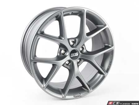 "ES#3138745 - SR016SGKT - 18"" SR - Set Of Four  - 18""x8"" ET45 5x112 - Satin Grey - BBS - Audi Volkswagen"