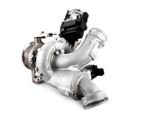 Exhaust Manifold With Turbocharger